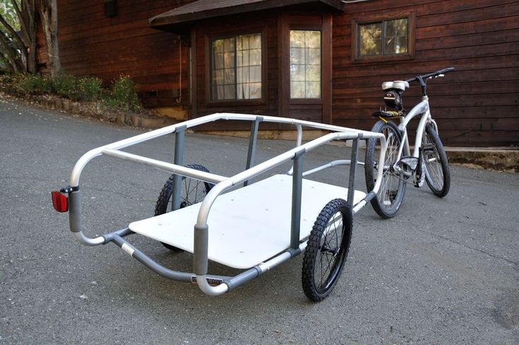 Bike Trailer made from 2 walkers                                                                                                                                                                                 More