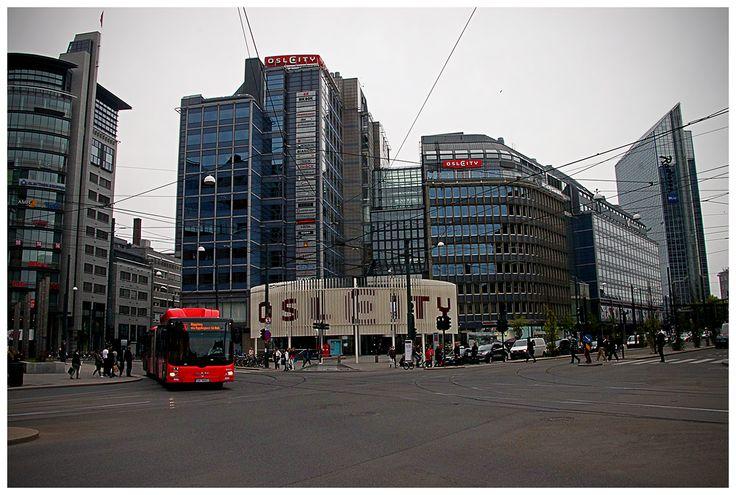 Oslo - centrum miasta