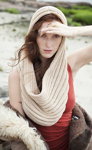 #14 Welted Cowl by John Brinegar in worsted