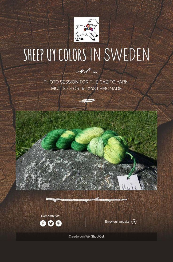 Sheep Uy Colors in Sweden