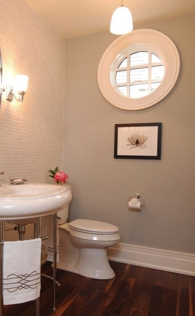Wall Color Is Repose Gray Sherwin Williams Sherwin Williams Gray Repose Gray Grey Bathroom Paint