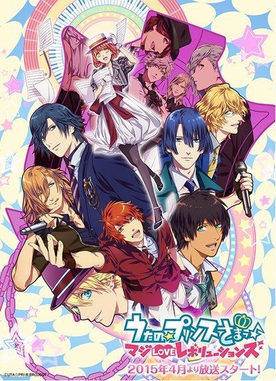 Uta no Prince-sama Season 3 slated for April 2015, main visual revealed - http://sgcafe.com/2014/11/uta-prince-sama-season-3-slated-april-2015-main-visual-revealed/