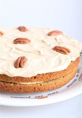 Coffee Pecan Pie with Mascarpone – Weekend Bakery