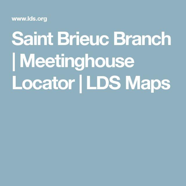 Saint Brieuc Branch   Meetinghouse Locator   LDS Maps