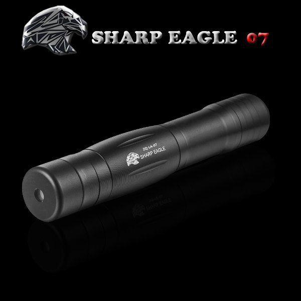 SHARP EAGLE ZQ-LA-07 5mw 532nm 16340 Green Light Laser Pointer
