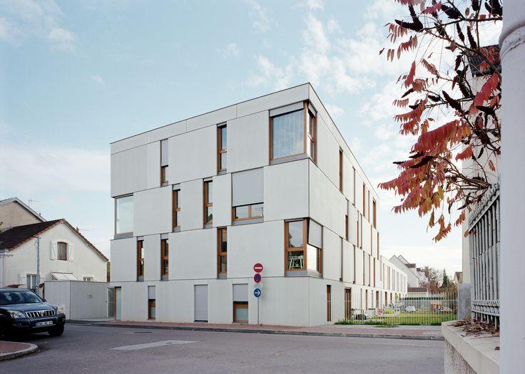 Dijon Concrete Housings,Courtesy of Ateliers O-S Architectes