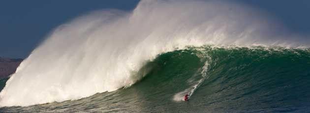 Belharra vague géante du Pays Basque