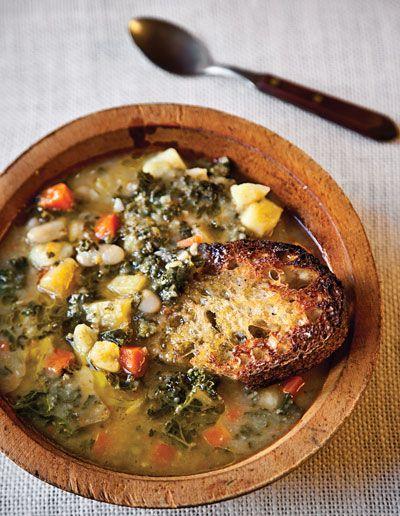Tuscan Bean Soup Recipe - Saveur.com