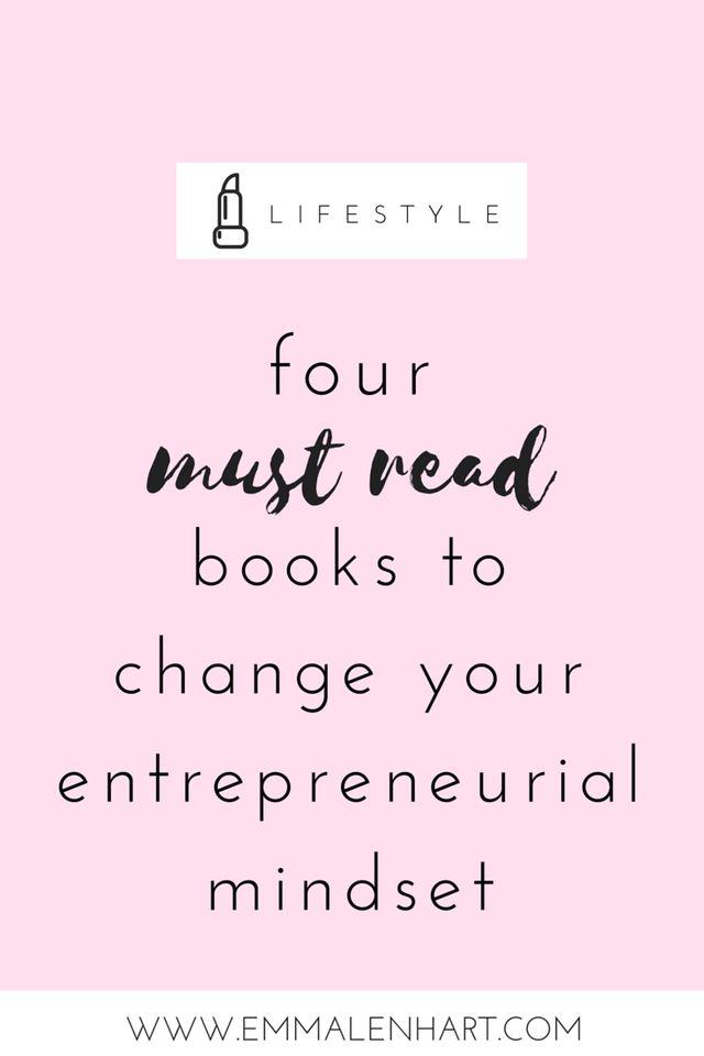 4 Must Read Books for Entrepreneurs