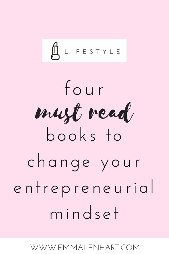 4 Must Read Books for Entrepreneurs - Looking for a book to shake up the way you look at your biz? I'm sharing my favorite four books that do just that. Click through this pin to read the full post and see the books!