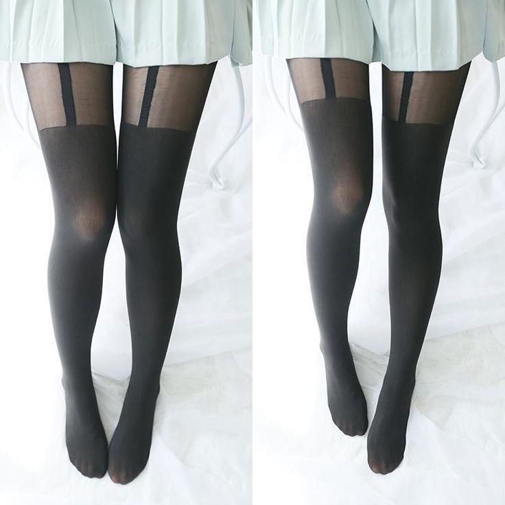 Japanese sexy black tight socks SD00272