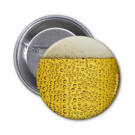 Funny Beer Oktoberfest Pinback Button
