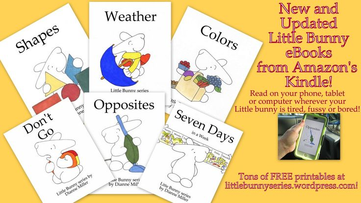 Learn Preschool concepts and with Little Bunny eBooks and tons of FREE printables available at littlebunnyseries wordpress com