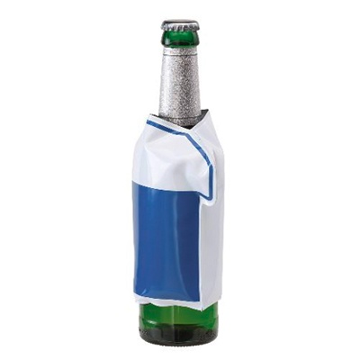 "Pastreaza bautura rece! - 8 RON    Imbraca sticla cu bautura cu acest tricou si aceasta se va mentine rece!  O ""mini geanta frigorifica"" pentru sticle, in forma de tricou, cu gel incorporat, care va pastra bautura rece."