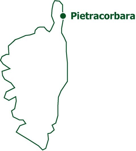 Pietracorbara   Une vallée du Cap Corse