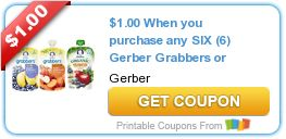 Tri Cities On A Dime: SAVE $2.00 WITH 2 COUPONS ON GERBER PRODUCTS - GRA...