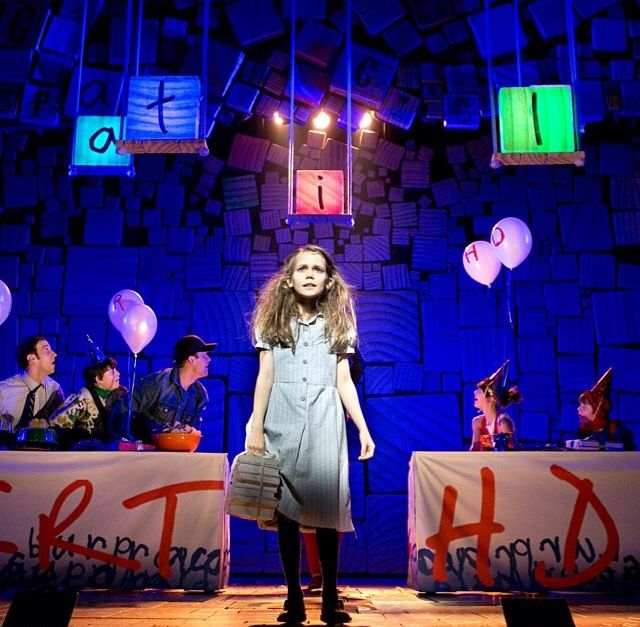 Oona Laurence in Matilda the Musical Broadway