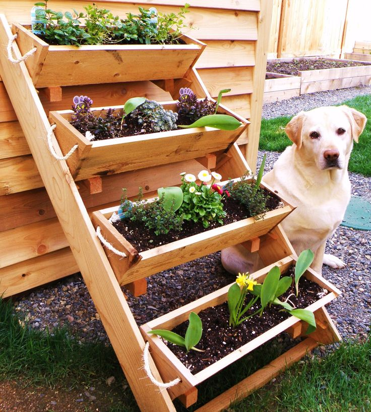 36 large planters raised bed vegetable garden for by RopedOnCedar, $62.22