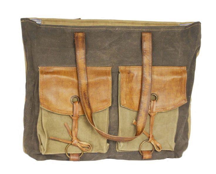 Canvas Schoudertas Met Ster : Images about vintage tassen on handbags
