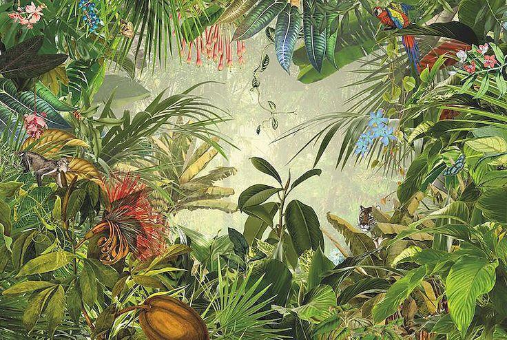 Vliestapete, Komar, »Into The Wild«, 368/248 cm für 134,99€. Wunderschöne Fototapete, Einfache Anbringung, Material: Vlies, Anzahl Teile: 4 bei OTTO