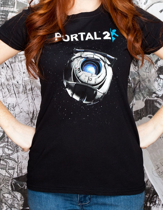 J!NX : Portal 2 Wheatley in Space Women's Tee
