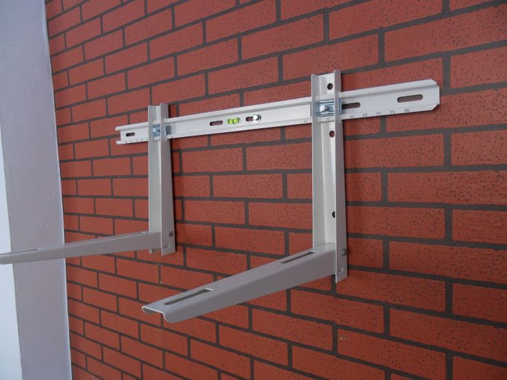 Folded Air Conditioner Bracket With Sliding Bar - http://www.smartclima.com/folded-air-conditioner-bracket-with-sliding-bar.htm