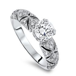18ct 1.15ct Diamond Ring.