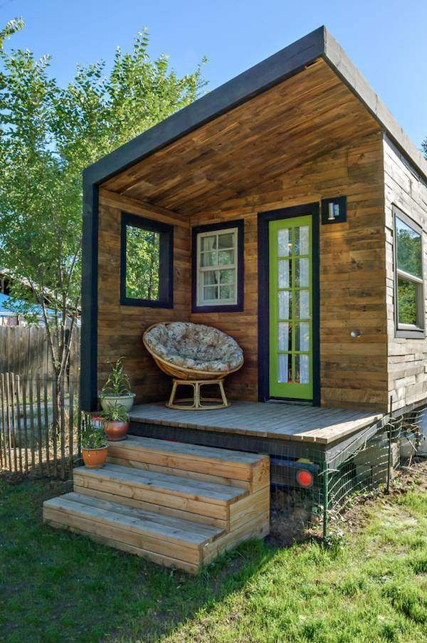 macy millers diy mortgage free tiny house 0015   Woman Builds her own DIY 196 Sq. Ft. Micro Home for $11k