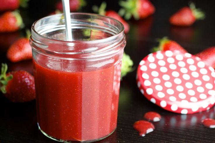 Une recette inratable de Coulis de fraises Thermomix sur Yummix • Le blog dédié au Thermomix !