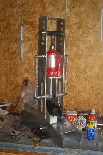 How To Build A Tube Bender- Not sure how solid that would be but I like the design.