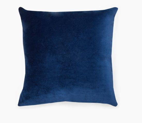 COCO REPUBLIC Venice Scatter Cushion Velvet - Navy 533mm X 127mm X 533mm