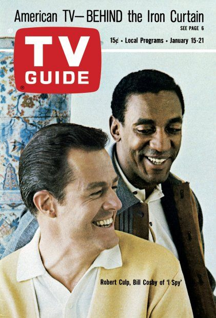 TV Guide: January 15, 1966 - Robert Culp and Bill Cosby of ...