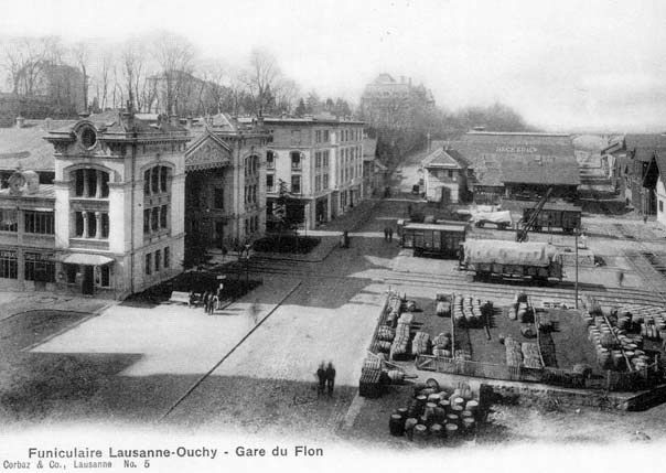 Lausanne 1885 Prise de vue depuis le Grand Pond, (http://www.lo-holding.ch/index.php)