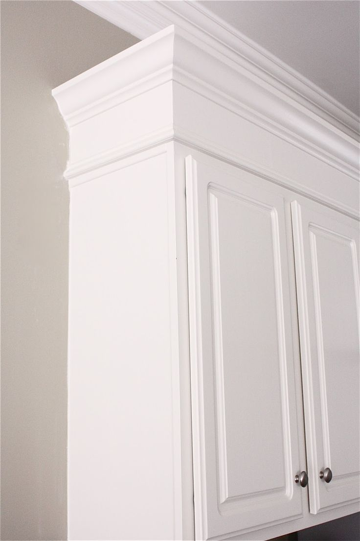 Kitchen diy make kitchen cabinets look taller with for A 1 custom cabinets