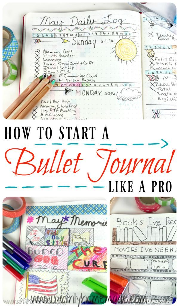How to start a bullet journal like a pro. Tips to set up monthly spreads and…