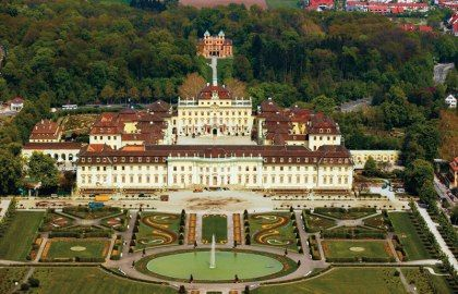 Residence Castle Ludwigsburg, Stuttgart, Germany, we are going to see this beautiful place this weekend :)