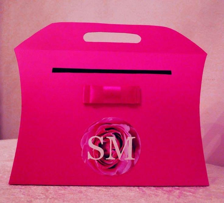Pudełko na koperty i życzenia