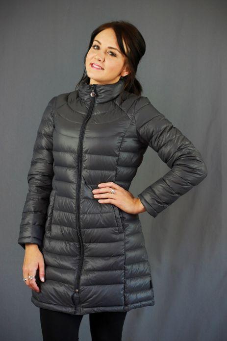 Moke Long Packable Down Jacket