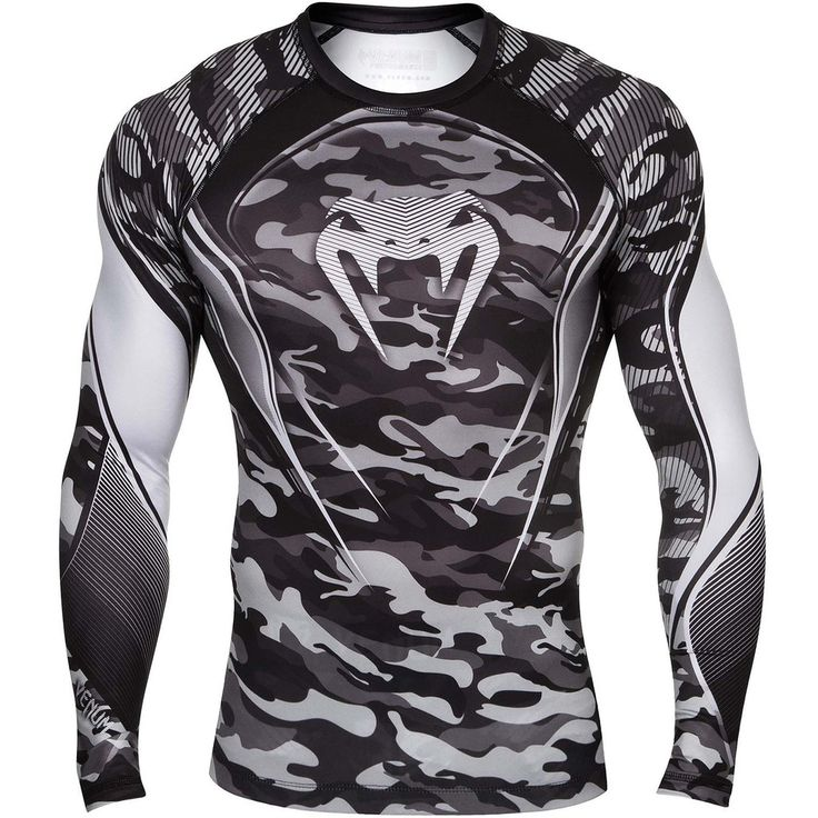 Venum Hero Longsleeve Compression Shirt - Grey