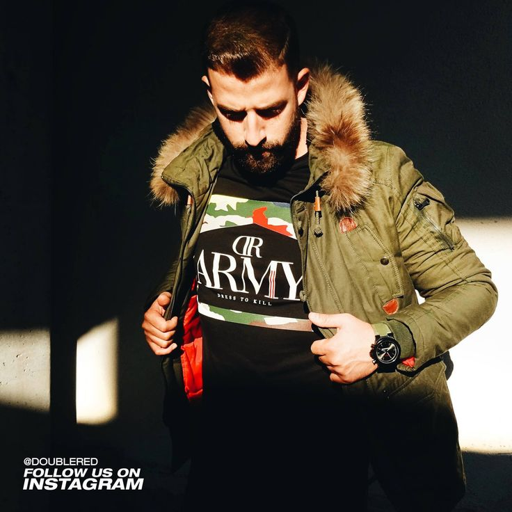 #winter #jacket #doublered #army #armystyle #winterstyle #armyfashion #military #militarystyle #streetwear #streetstyle #streetfashion #reddressing #drdresscode #drrules #fashionkiller #menswear #mensfashion