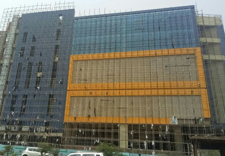 Front Elevation Noida : Best images about ark acp cladding and structural