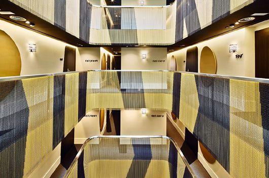 Las cortinas #KriskaDecor aportan creatividad, originalidad y mucho estilo al nuevo Hotel #VincciGala de #Barcelona