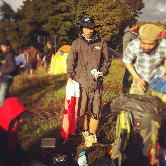 #myboy #myhusband #2565mdpl #hiking #central java… by @mellamoonz - Square Pics