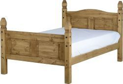 Corona Mexican 4'6 Bed High Foot End is the new brand fashionable furniture to the bedroom. It is available in a handsome price. Visit our website today: http://solidwoodfurniture.co/product-details-corona-mexican-pine--4726-corona-mexican-bed-high-foot-end.html