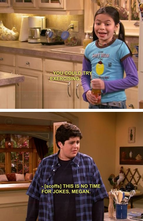drake and josh.. I miss this show!  Btw... He did exercise!  Now he's the skinny one!