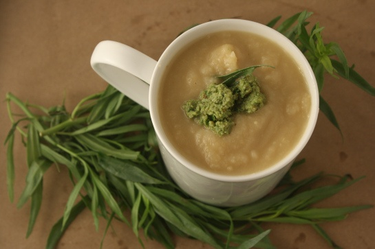 Roasted parsnips, Parsnip soup and Pesto on Pinterest