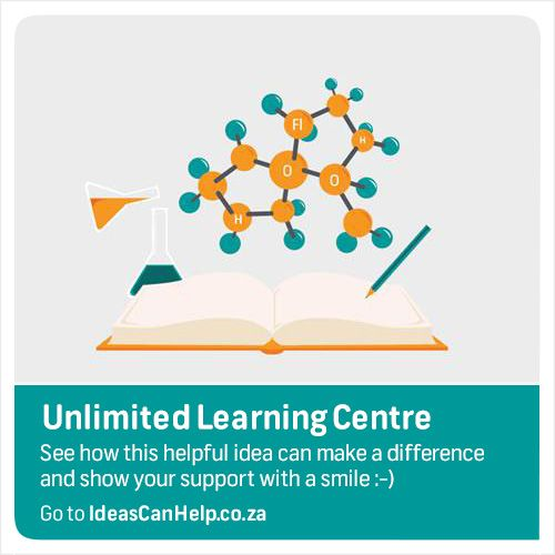 Unlimited learning centre is a series of independent schools and training centers that aim to provide an alternative to government and private schools. http://www.blog.fnb.co.za/ideas-can-help/view-idea/?id=4474