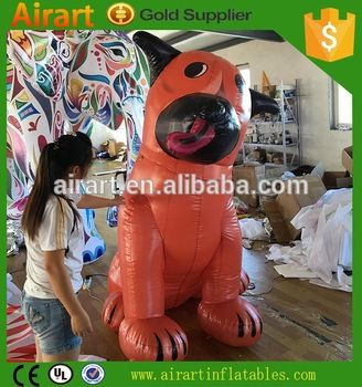 Giant inflatable dog,Giant Advertising Balloon dog,inflatable dog decoration