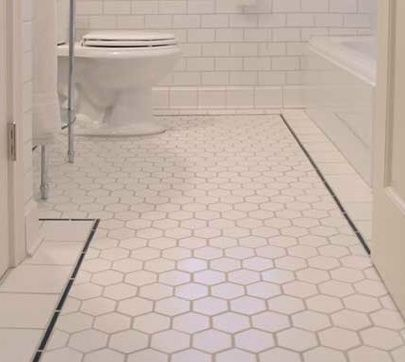 Elegant Bathrooms Are Well, Wet. So You Need Flooring That Can Withstand Some  Puddles.