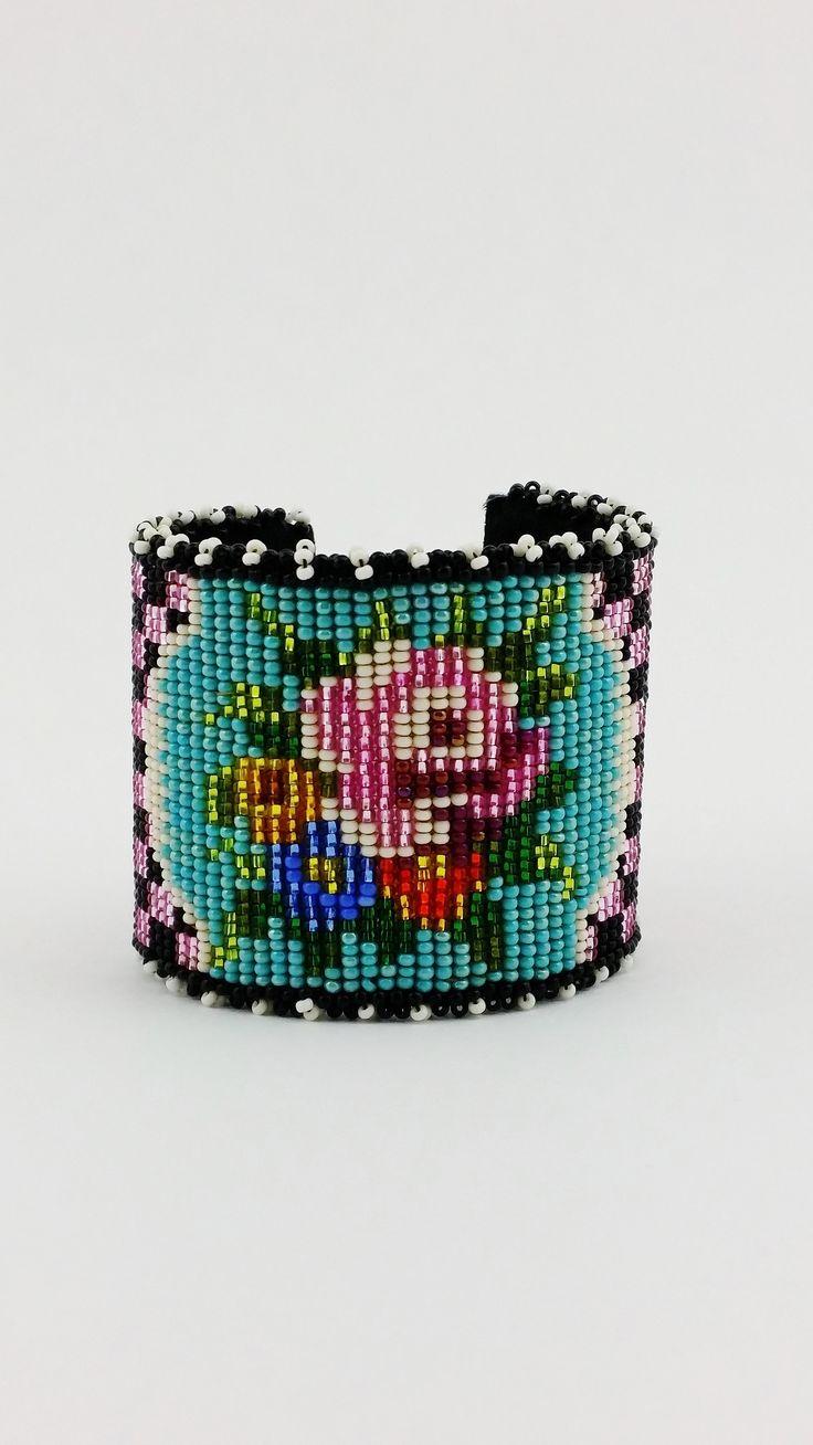 My work...Victorian Rose cuff